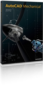 AutoCAD Mechanical 2012 Boxshot